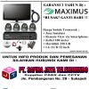 NEW PROMO!! PAKET CCTV 4 Channel with LCD 22 inch