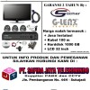 NEW PROMO!! PAKET CCTV AHD 4 Channel with LCD 32 inch